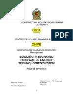 Chpb Proposal