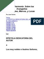 Una Harmonía Sobre los Evangelios