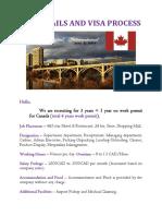 Canada Job Details