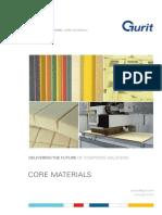 Core Materials Brochure