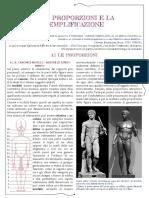Proporzioni Rotazione Figura e Viso