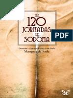 Sade, Marques de - Las 120 jornadas de Sodoma.pdf