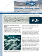 Protect Our Oceans from Factory Fish Farms