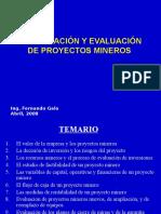 Curso Cip -2008- Formulacion y Evaluacion de Proyectos Mineros