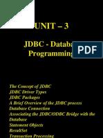 CS561 Unit 3 DataBaseProgramming