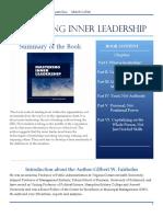 Mastering Inner Leadership.fairholm.ebs