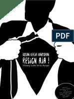 eBook Bosan Kerja Resign Aja Goukm.id