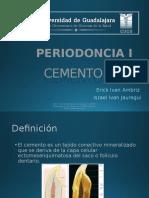 Cemento radicular  periodoncia