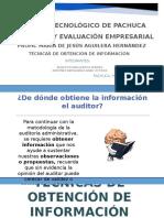 Técnicas de Obtención de Información (1)