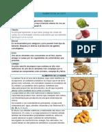 ALIMENTOS Nutritvos de Las Regiones Del Peru