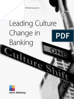Leading Culture Changein Banking