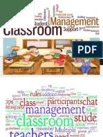 Classroom Management Ppt.