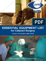 Cataract Standard EsList 0