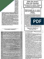 Liebenfels Joerg Lanz Von - Ostara Nr. 74 - Rassenmetaphysik Oder Die Unsterblichkeit Und Goettlichkeit Des Hoeheren Menschen (1914, 12 Doppels., Scan, Fraktur)