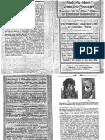 Liebenfels Joerg Lanz Von - Ostara Nr. 75 - Die Blonden Als Traeger Und Opfer Der Technischen Kultur (1914, 9 Doppels., Scan, Fraktur)