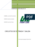 Circuito de Entrada y Salida de Electronica - Perales