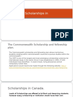 Scholarships-In-Canada - Global Opportunities Overseas Education Consultants