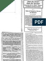 Liebenfels, Joerg Lanz Von - Ostara Nr. 77 - Rasse Und Baukunst Im Altertum Und Mittelalter (1914, 10 Doppels., Scan, Fraktur)