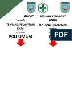 Poli Umum, Ugd