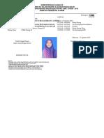 Bukti Pendaftaran Ujian Masuk