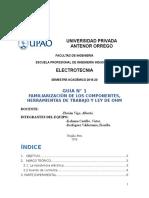 LABORATORIO N°1 - ELECTROTECNIA