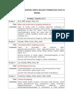 Group Presentasi - Pulp & Paper