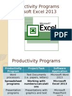 productivityprogramsexcelassignment1-160826122623