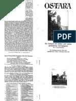 Liebenfels Joerg Lanz Von - Ostara Nr. 91-93 - Die Heiligen Als Kultur- Und Rassengeschichtliche Hieroglyph En (1930, 28 Doppels., Scan, Fraktur)