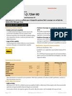 GPCDOC Local TDS Switzerland Shell Spirax S4 G 75W-90 (en-CH) TDS