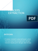 Forceps Extraction