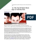 20 Top Songs