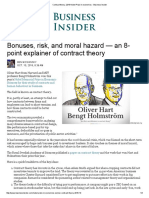 Contract theory, 2016 Nobel Prize in economics - Business Insider.pdf