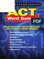 1learningexpress Llc Editors Act Word Games