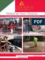 Akshayaa - High Pressure Cleaners