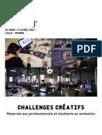 Challenges Creatifs FA2017 FR