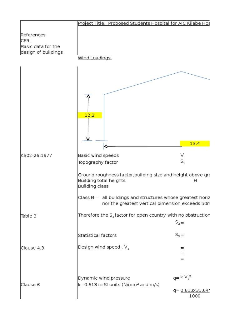 Wind Analysis | Ferimento | Engenharia de Construção