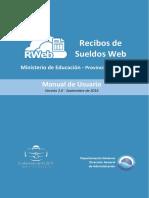 Recibo de Sueldo s Manual r Web