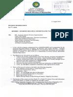 0909 - Division Memorandum No. 92, s. 2016