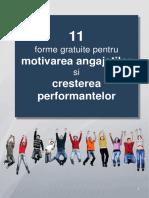 eBook 11 Forme Gratuite Pentru Motivarea Angajatilor Si Cresterea Performantelor