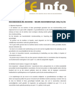 Risicobeoordeling Machines 2006 42 EG