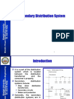 Week 10 Secondary Distribution System (Final Version)
