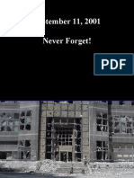 SUA - 11.09.2001 - Fotografii Nepublicate
