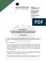 Saale-Elbe-Resolution