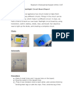 flashlight circuit board report