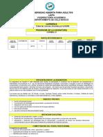 PROGRAMA DE ESPAÑOL II,  mejorado en base a texto de Luisa (3).doc