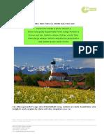 Alpen A1 Arbeitsblatt