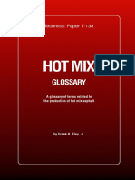 Astec Hot Mix Glossary En