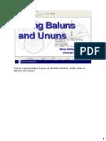 Baluns and Ununs