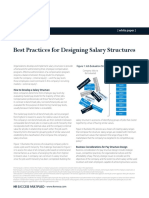 Kenexa White Paper - Best Practices for Designing Salary Structures
