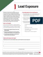 Lead Exposure